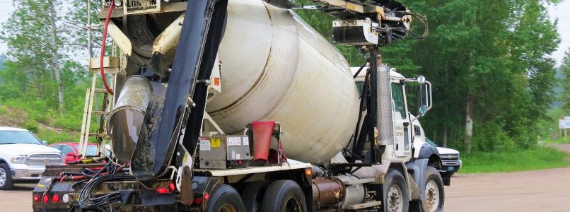 Muskoka Ready Mix Concrete Truck